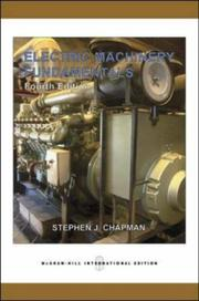 Cover of: Electric Machinery Fundamentals (Power & Energy)