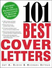 Cover of: 101 Best Cover Letters