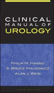 Cover of: Clinical Manual of Urology