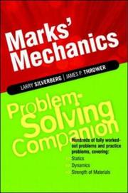 Cover of: Marks' Mechanics Problem-Solving Companion