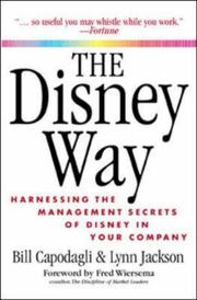 Cover of: The Disney Way