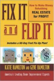 Cover of: Fix It and Flip It