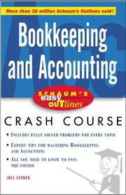 Cover of: Schaum's Easy Outline Bookkeeping and Accounting