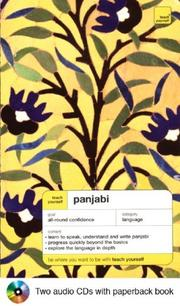 Cover of: Teach Yourself Panjabi Complete Course Package (Book + 2CDs) (Teach Yourself . . . Complete Courses)