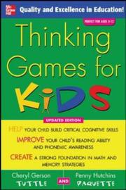 Cover of: Thinking Games for Kids