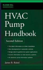 Cover of: HVAC Pump Handbook, Second Edition (McGraw-Hill Handbooks)