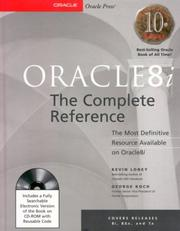 Cover of: Oracle8i