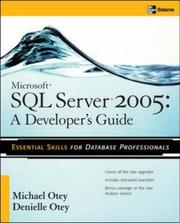 Cover of: Microsoft(r) SQL Server(tm) 2005 Developer's Guide