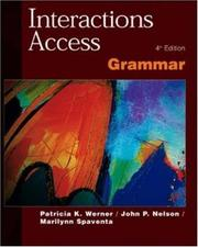 Cover of: Interactions Access Grammar SB