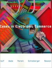 Cover of: Cases in Electronic Commerce