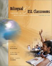 Cover of: Bilingual and ESL Classrooms