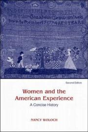 Cover of: Women and The American Experience, A Concise History