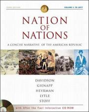 Cover of: Nation of Nations Concise Volume I w/ After the Fact Interactive Salem Witch Trials, MP: A Concise Narrative History of the American Republic