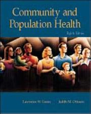 Cover of: Community and Population Health with PowerWeb