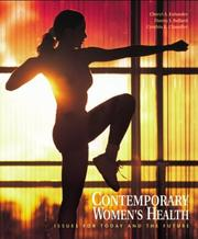 Cover of: Contemporary Women's Health with PowerWeb