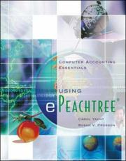 Cover of: Computer Accounting Essentials using ePeachtree
