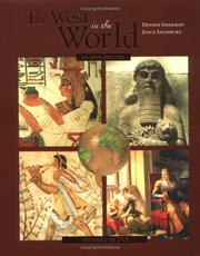 Cover of: The West in the World: A Mid-Length Narrative History, Volume 1