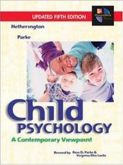 Cover of: Child Psychology Updated 5e and PowerWeb