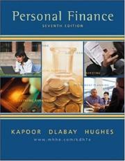 Cover of: Personal Finance+ Student CD-ROM+ Personal Financial Planner