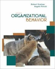 Cover of: Organizational Behavior with Student CD and PowerWeb