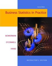 Cover of: Business Statistics in Practice W/ Student CD and PowerWeb