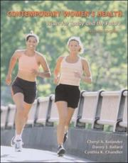 Cover of: Contemporary Women's Health with PowerWeb Bind-in Card