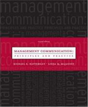 Cover of: Management Communication