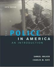 Cover of: The Police In America
