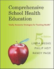 Cover of: Comprehensive School Health Education