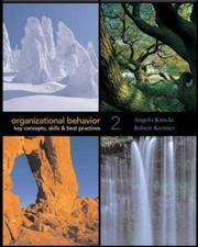 Cover of: Organizational Behavior with Student CD-ROM and OLC card