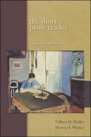Cover of: The Short Prose Reader with Student Access to Catalyst
