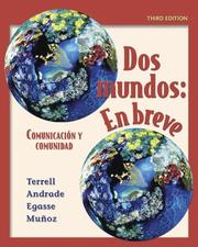 Cover of: Dos mundos en breve Student Edition with Bind-In Passcode