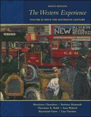 Cover of: The Western Experience, Volume 2, with Primary Source Investigator and PowerWeb