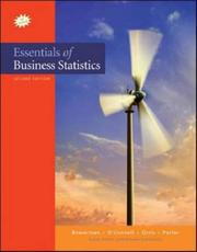 Cover of: Essentials of Business Statistics with Student CD (The Mcgraw-Hill/Irwin Series: Business Statistics and Quantitative Methods and Management Science)