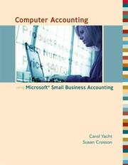 Cover of: Computer Accounting with Microsoft Office Accounting 2007 with CD
