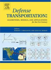 Cover of: Defense Transportation