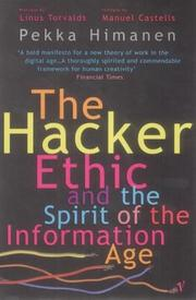 Cover of: The Hacker Ethic