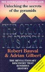 Cover of: Orion Mystery, The