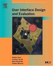 Cover of: User Interface Design and Evaluation (The Morgan Kaufmann Series in Interactive Technologies) (Interactive Technologies)