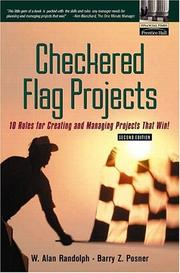 Cover of: Checkered Flag Projects