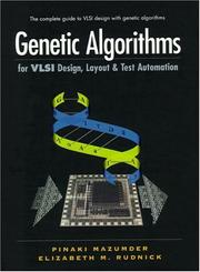 Cover of: Genetic Algorithms for Vlsi Design, Layout & Test Automation
