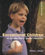 Cover of: Exceptional Children