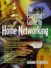 Cover of: Essential Guide to Home Networking Technologies, The