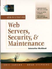 Cover of: Administrating Web Servers, Security, & Maintenance Interactive Workbook