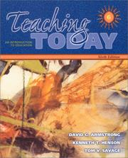 Cover of: Teaching Today