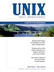 Cover of: UNIX Fault Management