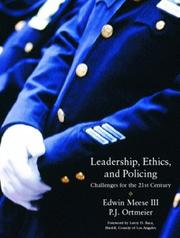 Cover of: Leadership, Ethics and Policing