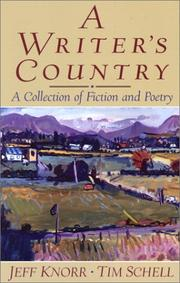 Cover of: A Writer's Country