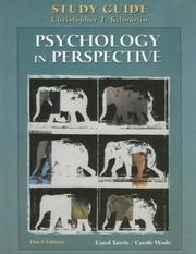 Cover of: Psychology in Perspective