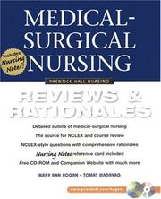 Cover of: Medical-Surgical Nursing